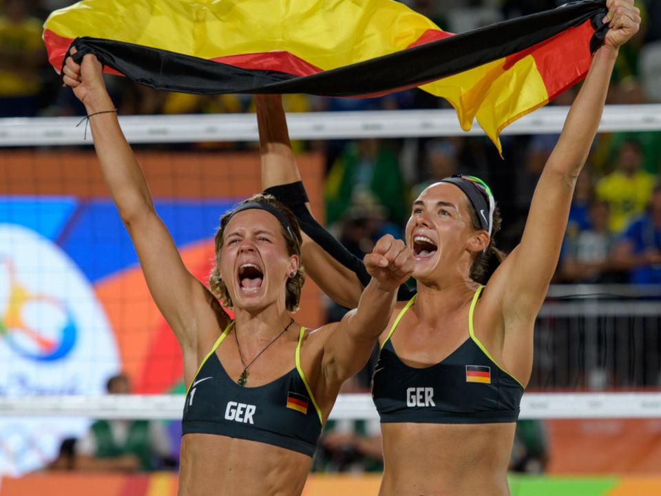 Beachvolleyball Olympiasiegerin Laura Ludwig Gedankenkarussell Forderbeispiele Athletenforderung Stiftung Deutsche Sporthilfe