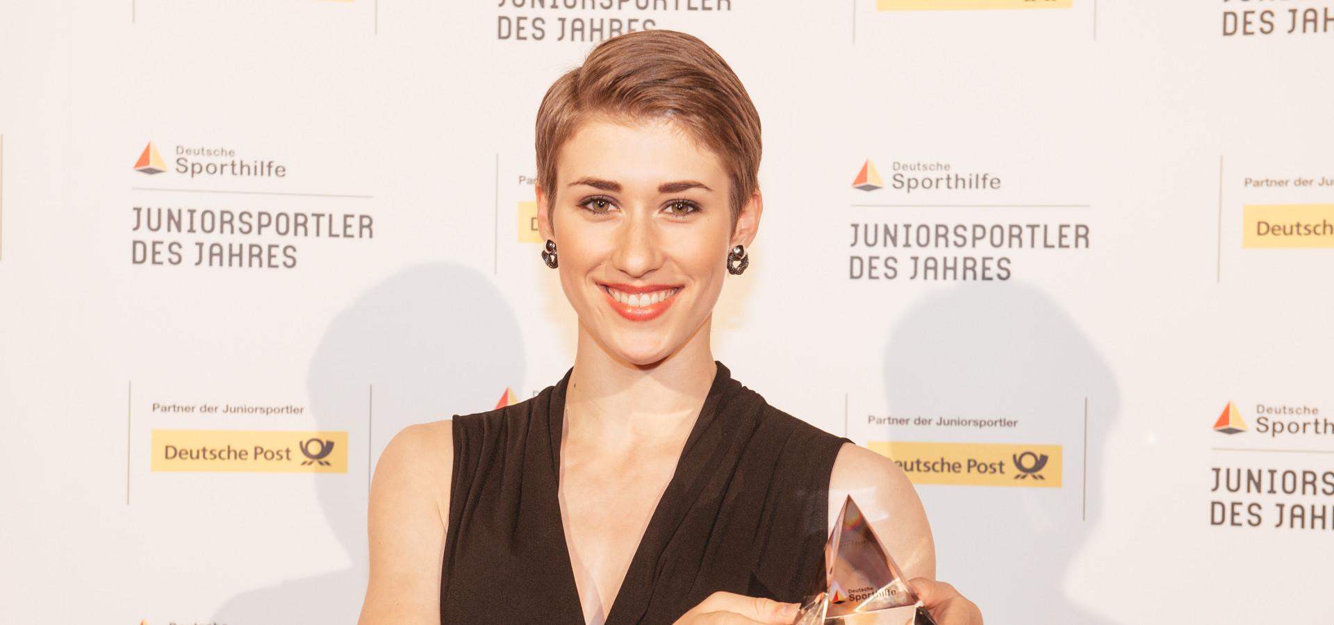 Bahnrad Junioren Weltmeisterin Pauline Grabosch Ist
